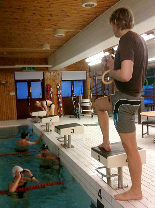 Är det ok att spy i poolen?