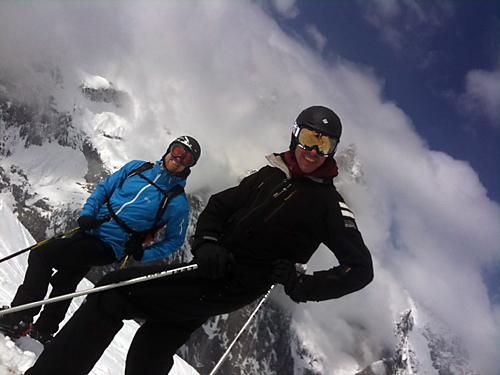 Bättre skidåkare med ett leende