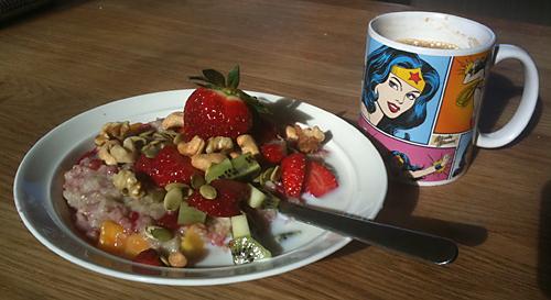 Jag älskar frukost!
