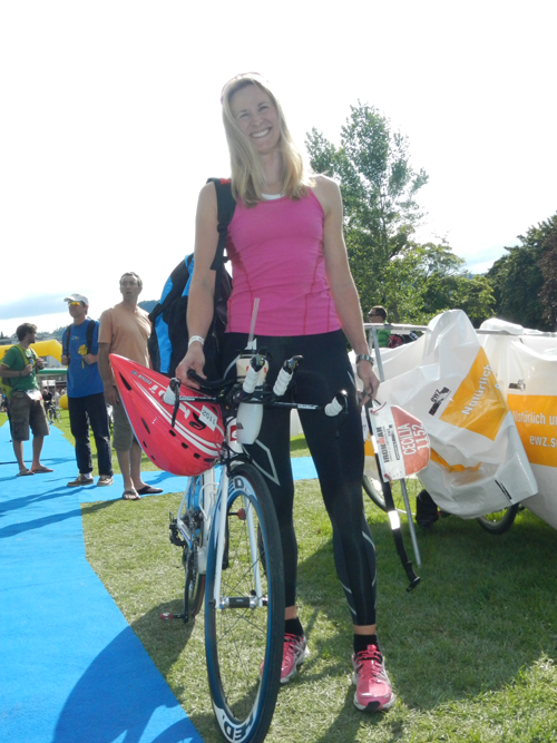 Ironman Zurich bike check in