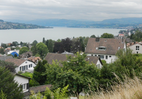 Ironman Zurich bike course view