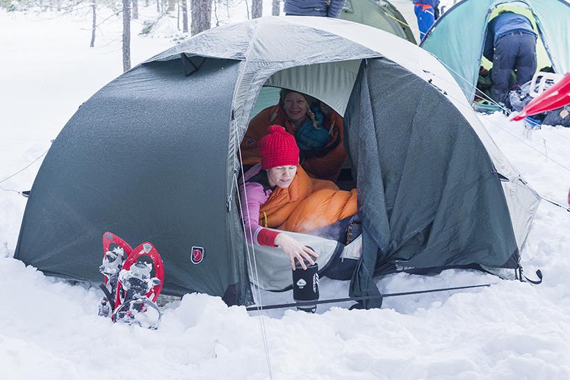 Tälta på vintern? | Öknehult